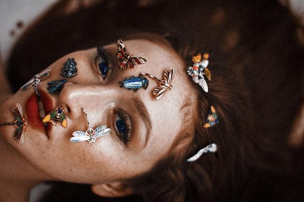 Фото №5 - О женщинах и насекомых: неординарные украшения от Dzhanelli Jewellery