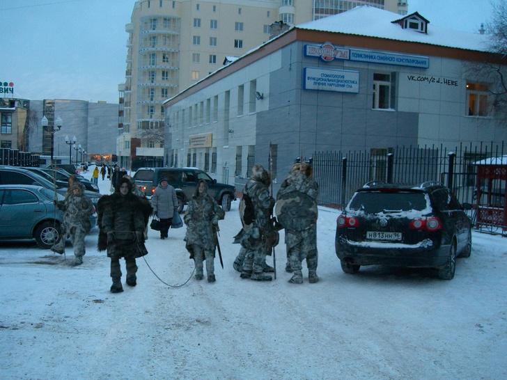 Фото №11 - Вот что получилось бы, если бы голливудские фильмы снимали в России!