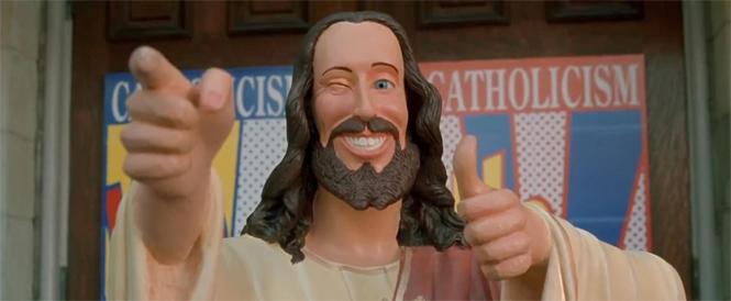 Фото №1 - 9 божественных фактов о фильмах «Догма» и «Джей и Молчаливый Боб»