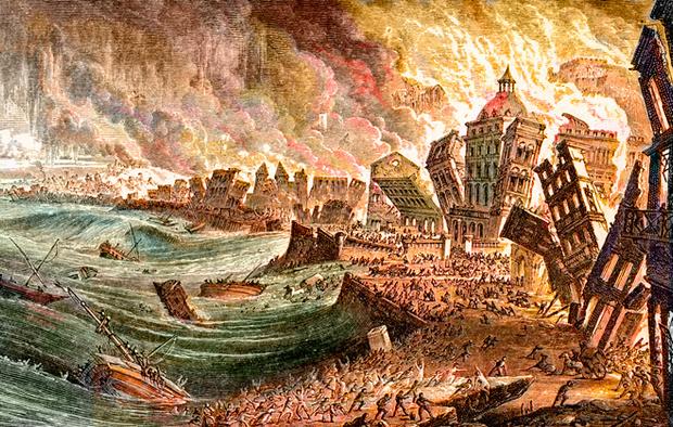 Фото №1 - Землетрясение, которое изменило ход истории