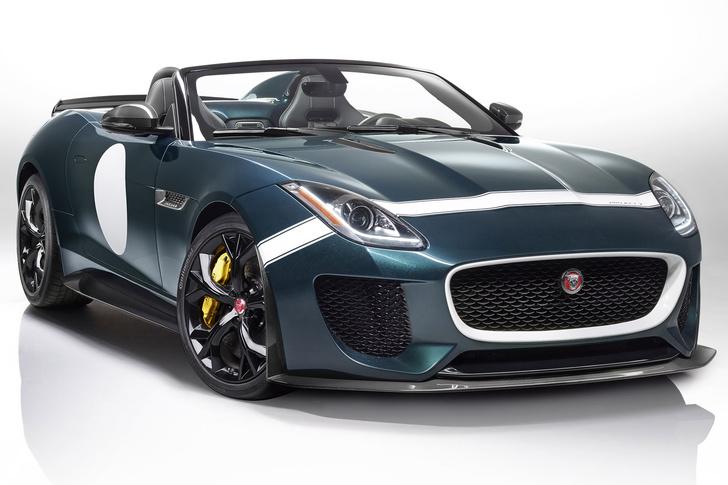 Фото №1 - Родстер Jaguar F-Type Project 7 — до первой сотни разгоняется всего за 3,9 секунды