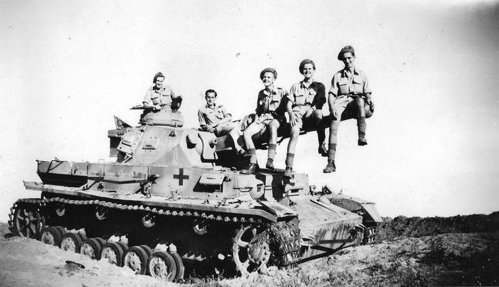Фото №4 - Самые странные способы обезвредить танк— танк!— в истории войн