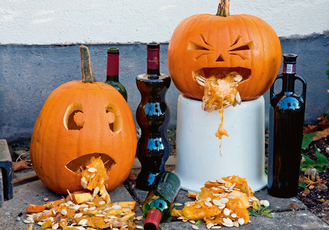 Фото №3 - Как сделать жуткую тыкву для Хеллоуина
