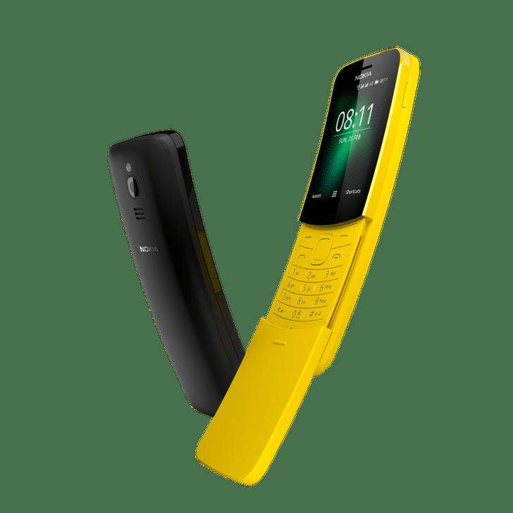 Фото №2 - Nokia выпустила ремейк телефона из «Матрицы», более известного как «бананафон»