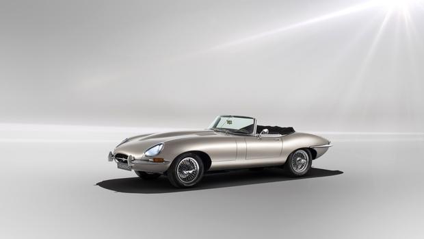 Фото №2 - Jaguar выпустит электрическую версию легендарного E-Type