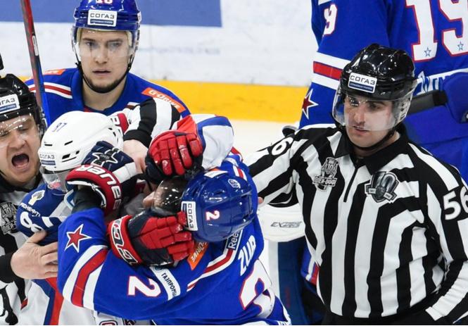 Что может ваш ЦСКА – только драться?! Самая яркая серия года в хоккее