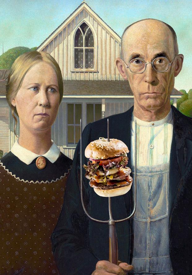 Фото №6 - Если бы бургеры появились на несколько столетий раньше