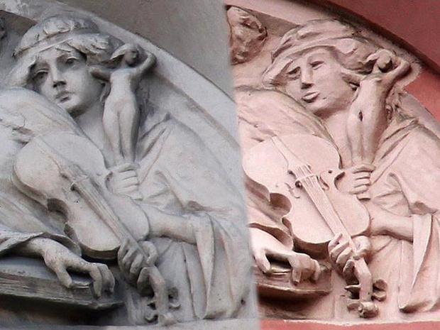 Фото №8 - Пушистый Иисус, Губка Боб, перекошенная нимфа и еще 10 примеров неудачной реставрации