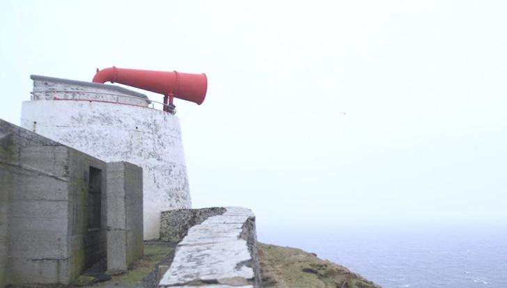 Фото №1 - ВИДЕО для медитации: звуковой маяк в Шотландии