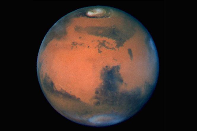 Самая четкая фотография Марса, сделанная с Земли