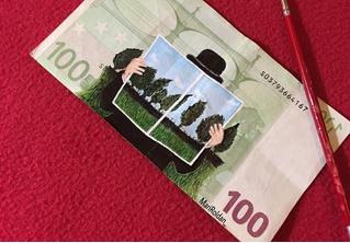 Картины на деньгах — таким течением живописи ты еще не возмущался!