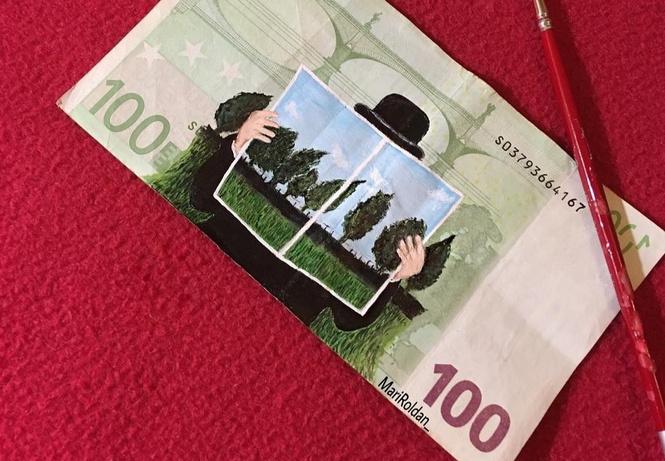 картины деньгах течением живописи возмущался