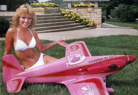 Времена, когда авиамоделирование было сексуальным!