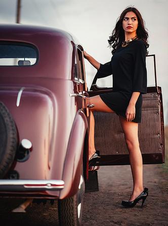Фото №2 - Памятка дамам, которые путешествуют с джентльменами на автомобиле