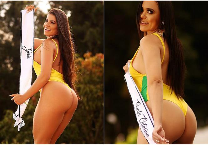 Поприветствуем участниц самого последнего конкурса «Лучшая попа Бразилии»!