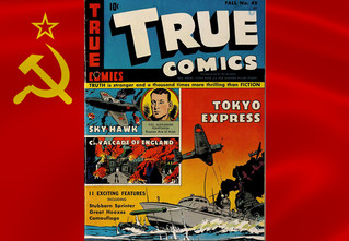 Трижды герой СССР Покрышкин в американском комиксе