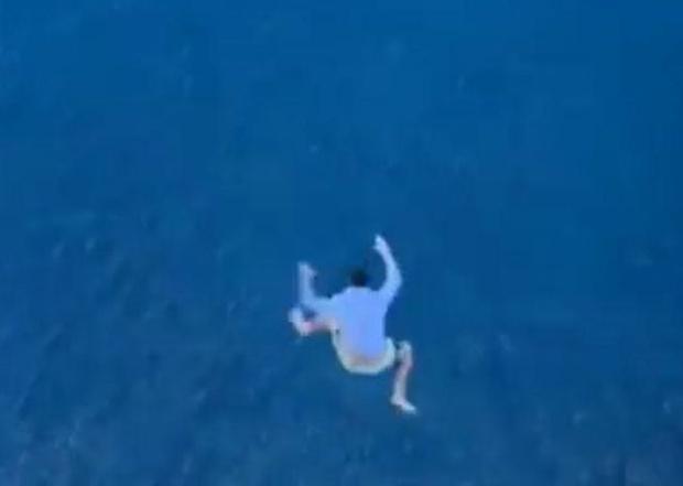 Фото №2 - Пьяный пассажир ради шутки сиганул с 11-го этажа круизного лайнера (видео)