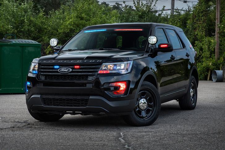 Фото №4 - На пути к Робокопу: Ford запатентовал автономную полицейскую машину