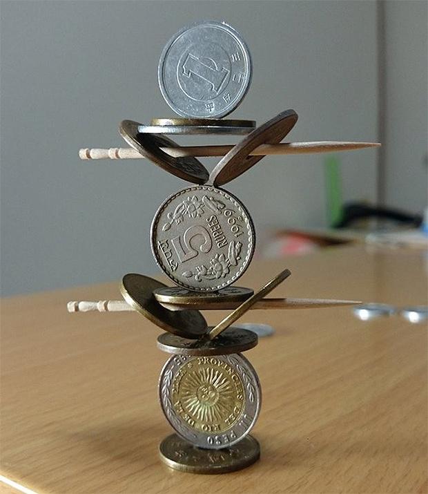 Фото №2 - Японец победил гравитацию и здравый смысл!
