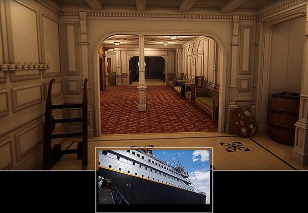 Фото №1 - Прогулка по лайнеру «Титаник» на движке Unreal (видео)
