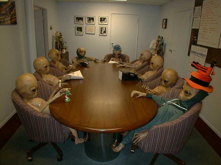 Фото №1 - Согласно последним исследованиям, человечество расслабилось по поводу вторжения пришельцев
