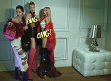 Настасья Самбурская, Наталья Рудова, Ханна, Анастасия Решетова и Мария Миногарова в откровенной фотосессии