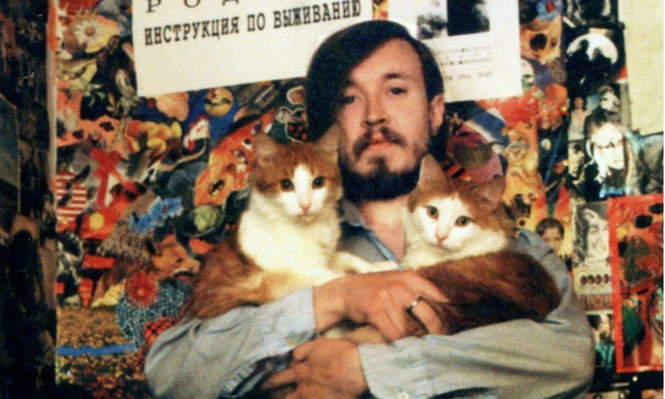 Фотографии рок-звезд с котятами!