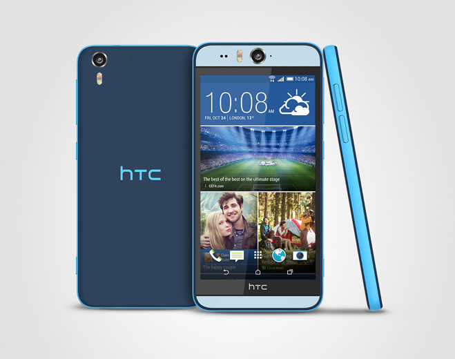 HTC Desire Eye Matte Blue