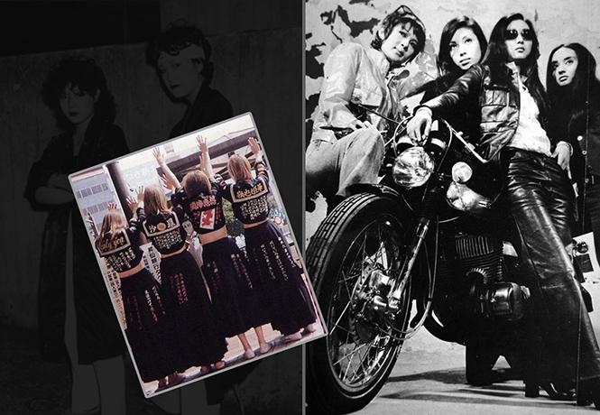 Фото №1 - Как выглядели женские молодежные банды 70-80-х годов прошлого века в Японии