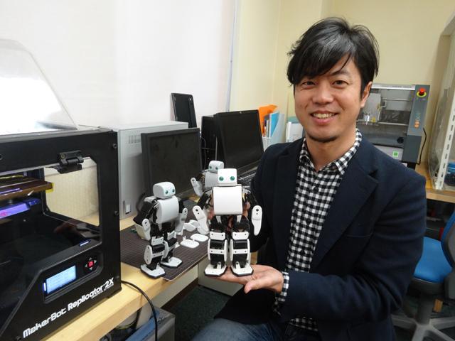 Фото №1 - Человекоподобный робот своими руками!