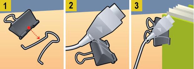 Фото №4 - Как сделать, чтобы провода не запутывались: 4 лайфхака