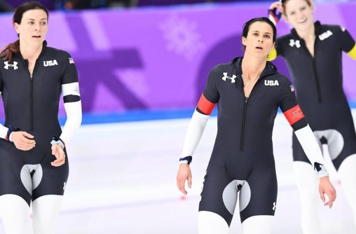 Фото №2 - Тайна неприличной формы американских конькобежек раскрыта!