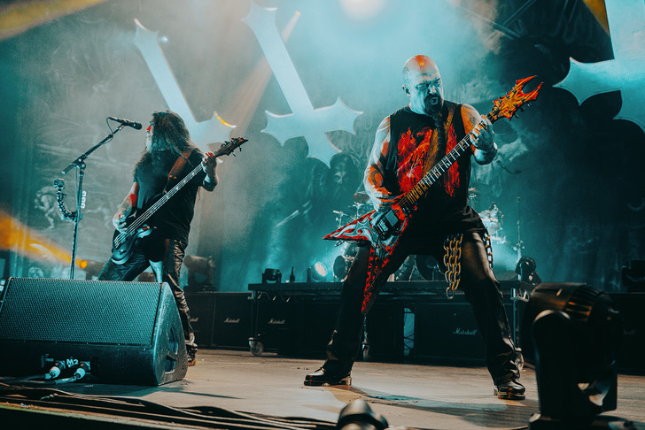 Фото №5 - Как разверзался ад на концерте трэш-металлистов Slayer и Anthrax
