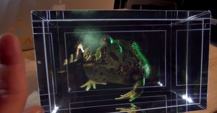 Фото №1 - Американский стартап готовит к выпуску голографические дисплеи (ВИДЕО)
