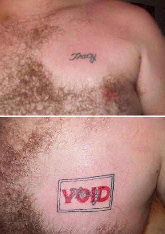 Фото №5 - 10 попыток исправить татуировки с именами и лицами бывших