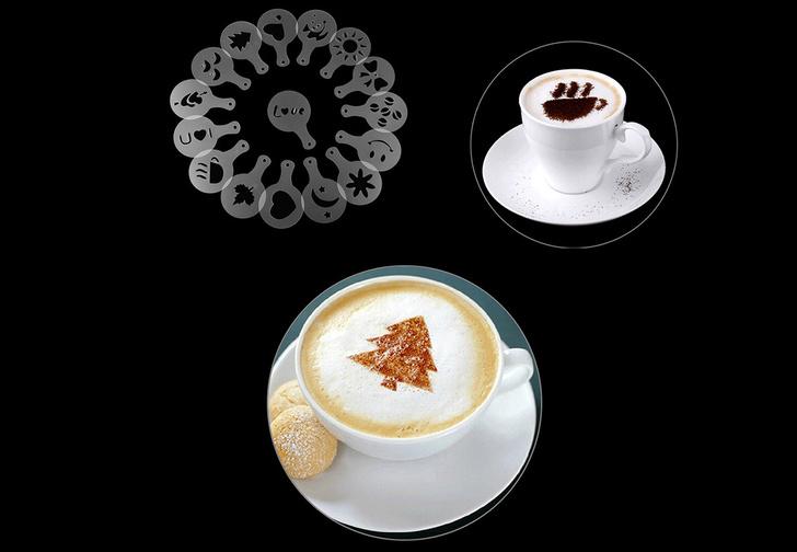 Фото №1 - Как рисовать на кофе: две главные техники: легкая и посложнее