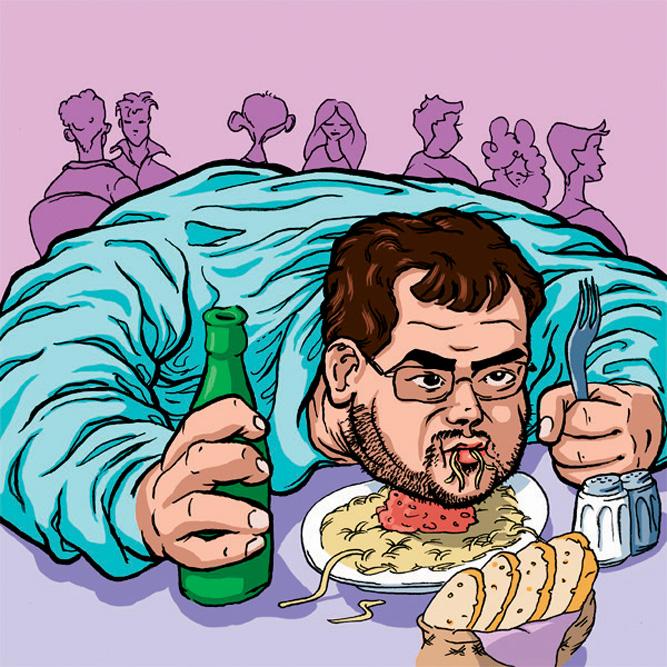 Фото №2 - Как нагулять жир к зиме