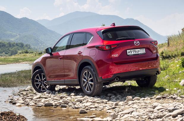 Фото №2 - Кое-что о новом поколении Mazda CX-5