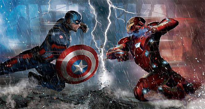 Фото №1 - Первый трейлер первого противостояния первого мстителя