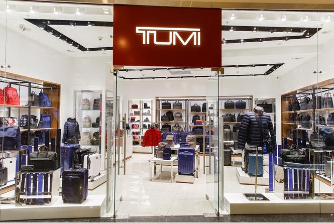 Все коллекции TUMI в их первом российском бутике