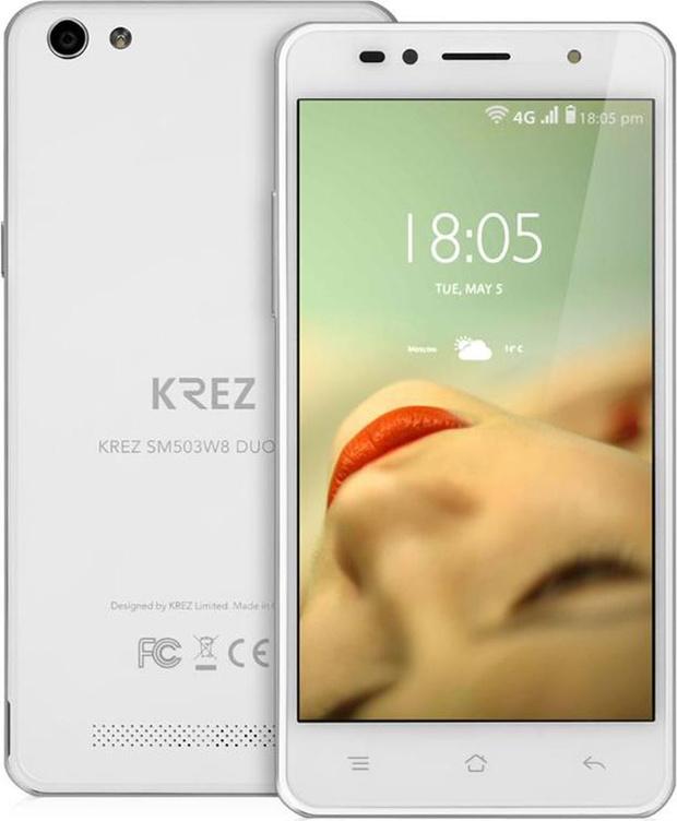 Китайский смартфон KREZ DUO LTE