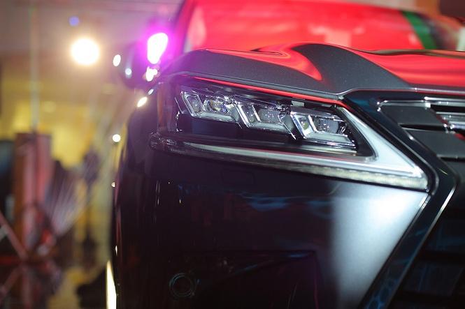 Lexus LX в новой аранжировке