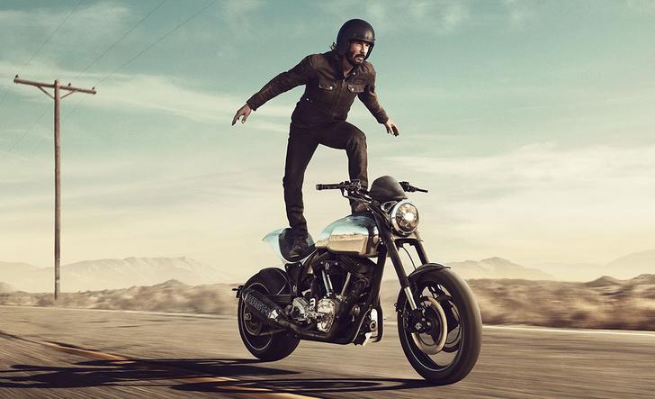 Фото №1 - «Потому что мы все умрем»: микросага о любви Киану Ривза к мотоциклам