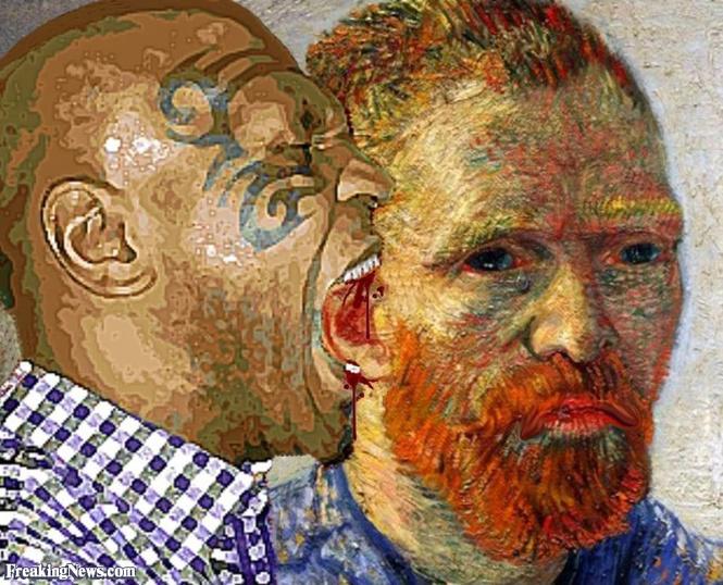 13 ушастых фотожаб, вдохновленных Ван Гогом