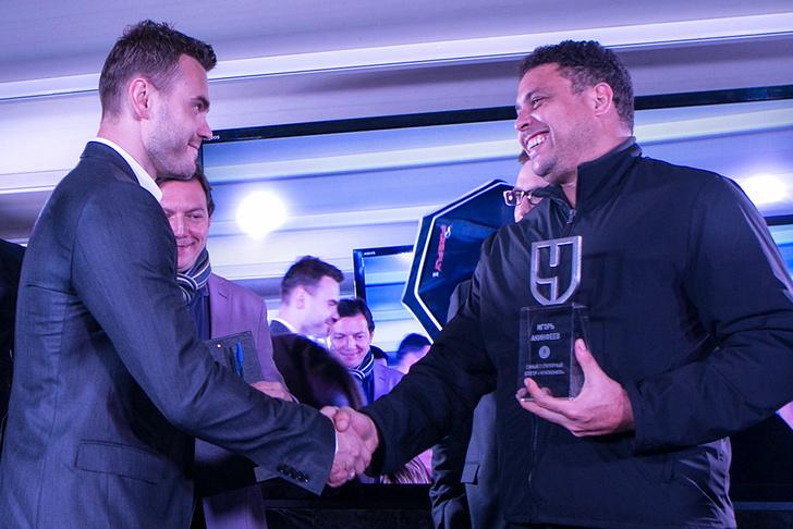 Акинфеев и Роналдо
