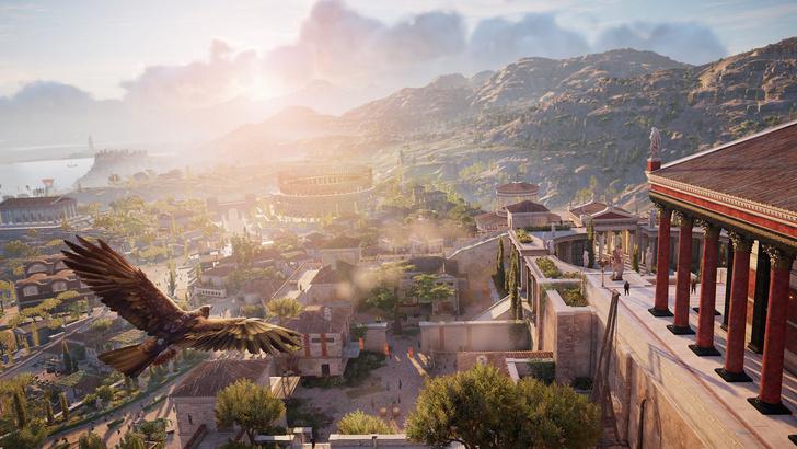 Фото №3 - Экскурсия в Древний Египет: как из игры Assassin's Creed Origins делают виртуальный музей