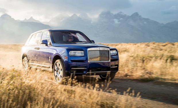 Фото №11 - Больше, чем у X7: еще десять автомобилей с монументальными решетками радиатора