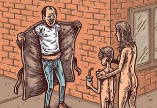 Сатана, кровища и извращения: лучшие иллюстрации из журнала Nakid