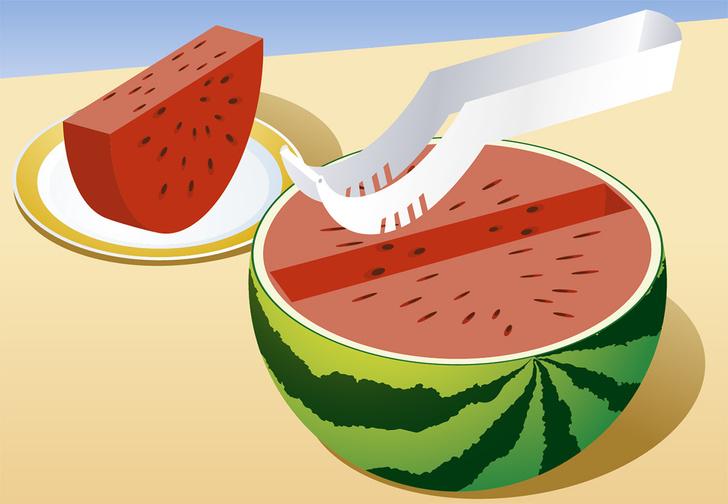 Фото №4 - 8 способов разрезать и съесть арбуз