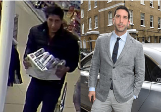 Человек, похожий на Росса из «Друзей», украл ящик пива. Интернет отреагировал соответствующе